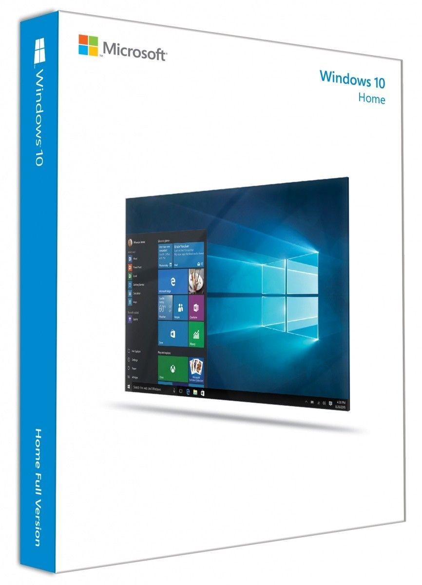 Microsoft OEM Win Home 10 64Bit Eng Intl 1pk DVD