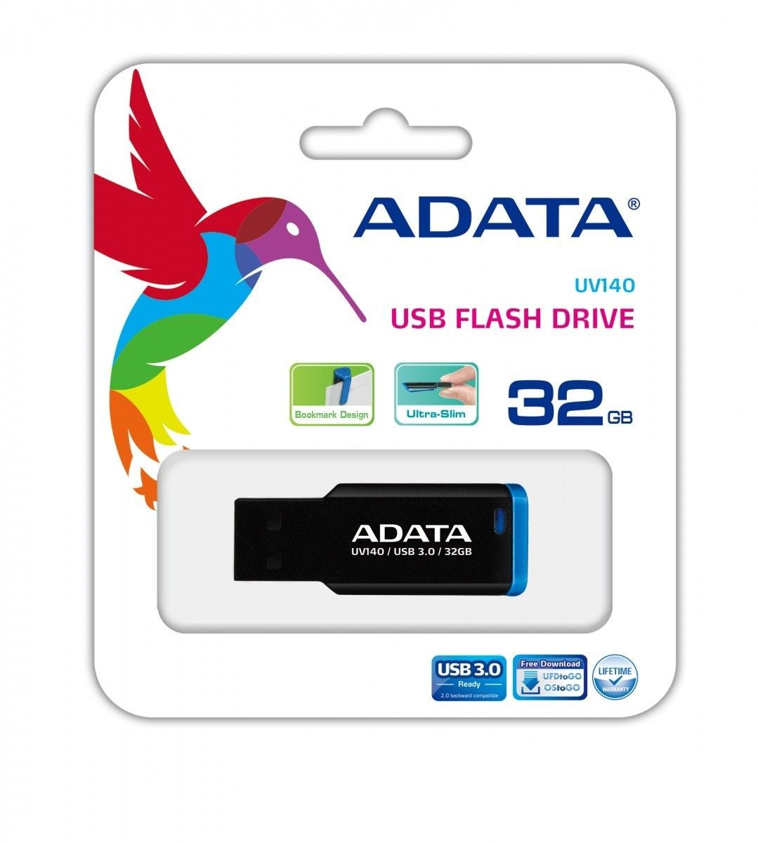 A-Data Dashdrive Classic UV140 32GB USB3.0 Niebieski