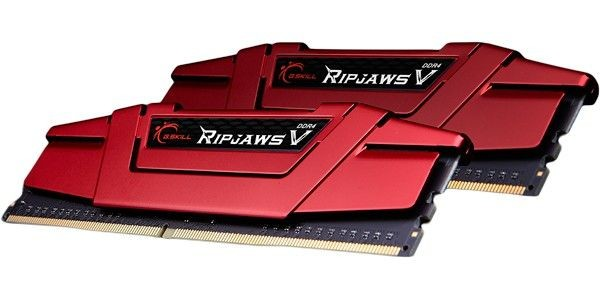 GSkill DDR4 8GB (2x4GB) RipjawsV 2400MHz CL15 XMP2 Red