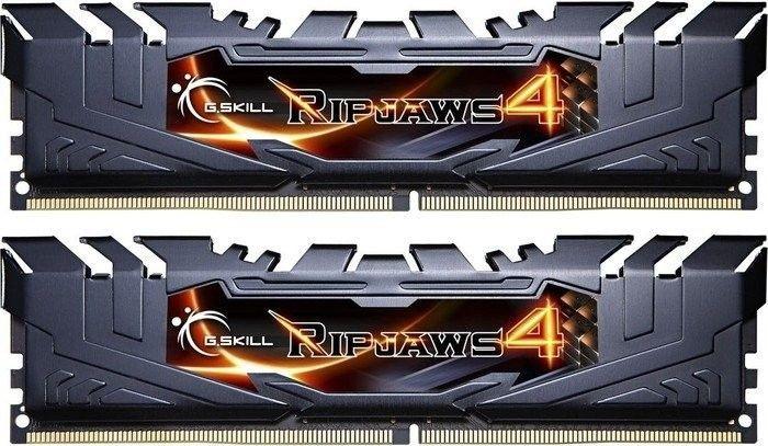 GSkill DIMM 16GB (2x8GB) Ripjaws4 DDR4 3000MHz CL15-15-15 XMP2 Black /G.SKILL