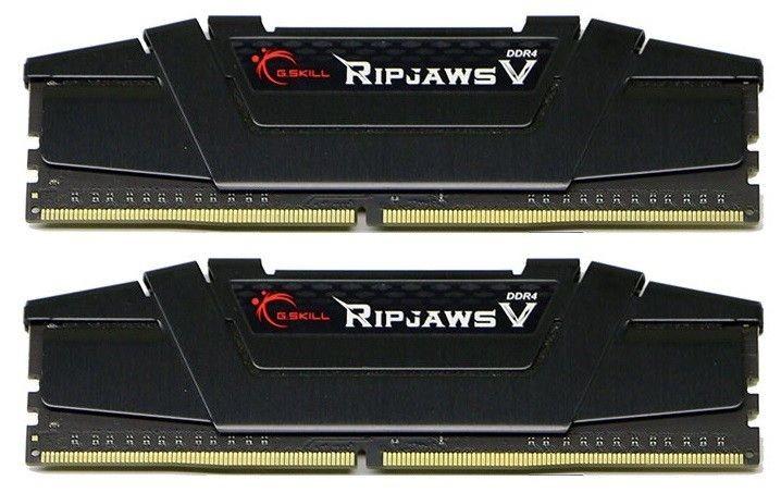 GSkill DDR4 16GB (2x8GB) RipjawsV 3200MHz CL16-16-16 XMP2 Black