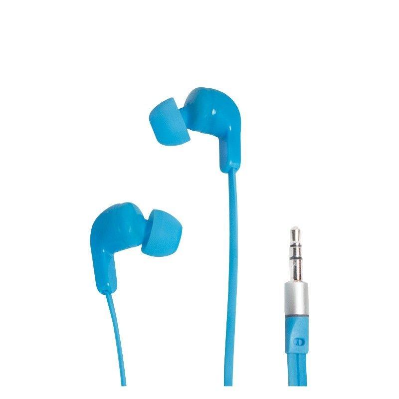 LogiLink Słuchawki douszne stereo 3,5mm jack, niebieskie