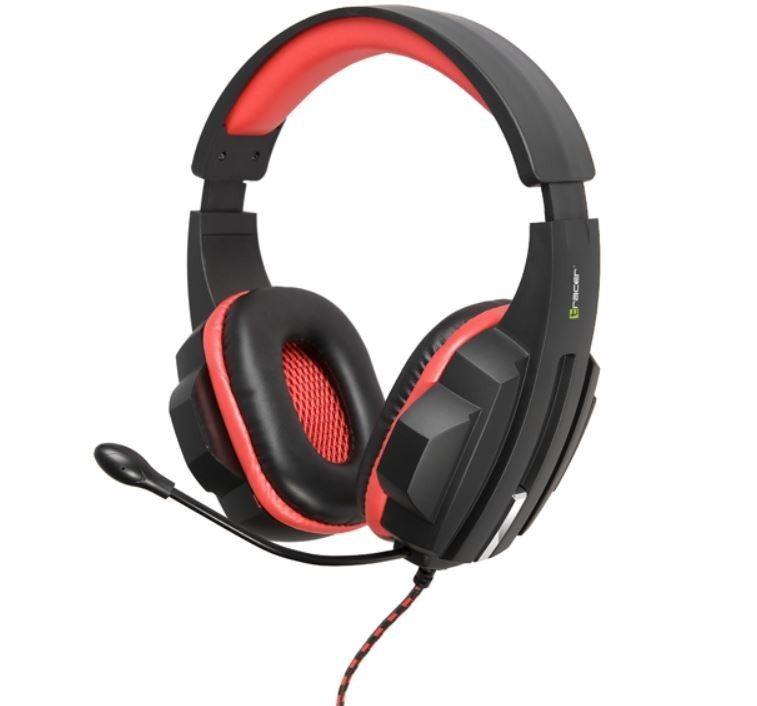Tracer Słuchawki EXPERT RED