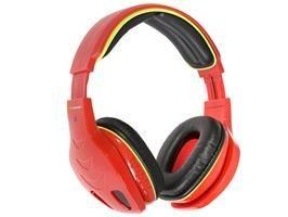 Tracer Słuchawki JUMBO RED BT 2,1 10m