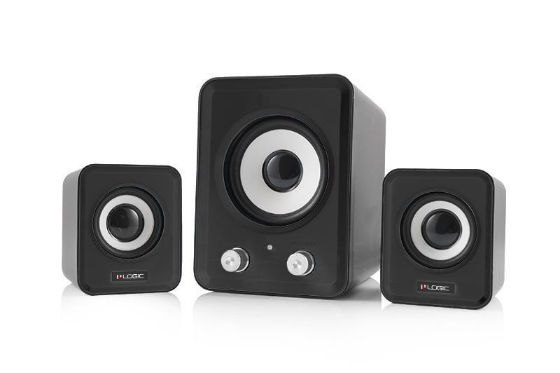 ModeCom Głośniki 2.1 LS-20 (czarne) [ stereo ]