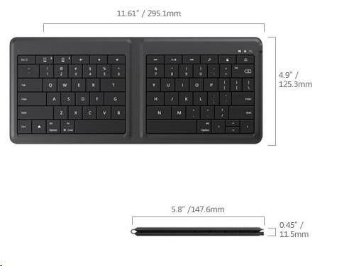 Microsoft Universal Foldable Kbrd GU5-00013