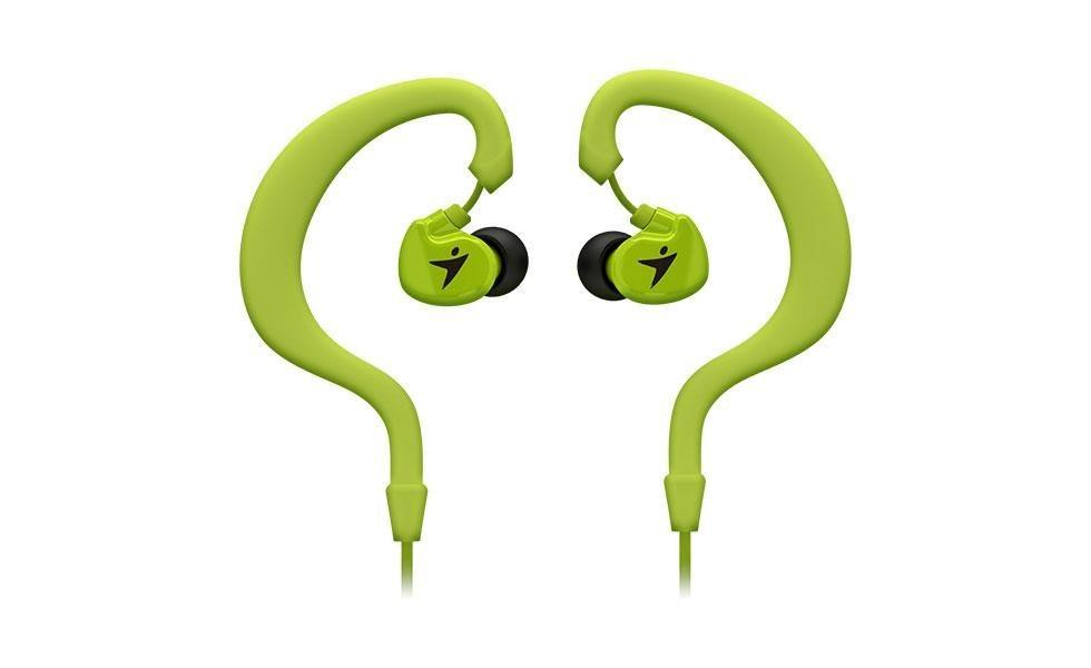 Genius HS-M270 słuchawki sportowe douszne z zaczepem na ucho, Zielone