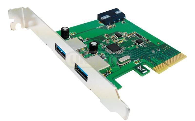 Unitek Kontroler PCI-E, 2x USB 3.1. Y-7305