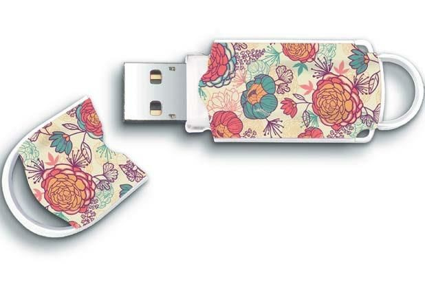 Integral pamięć USB Xpression Floral 8GB USB 2.0
