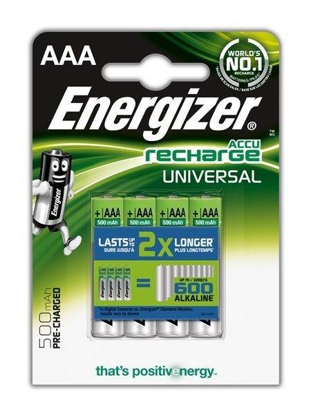 Energizer Akumulator Universal AAA L92 500 mAh 4 szt. blister