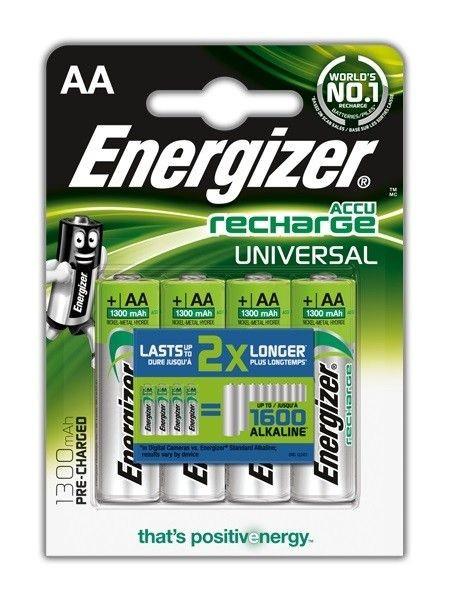 Energizer Akumulatory AA Universal 4 sztuki