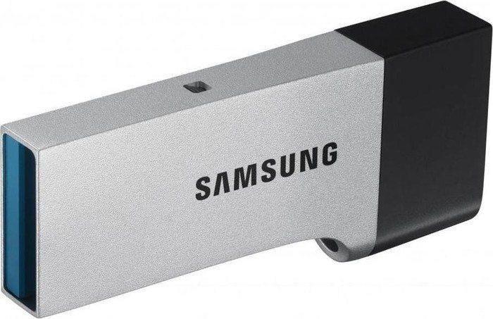 Samsung Pendrive (Pamięć USB) 32 GB USB 3.0 Srebrno-czarny