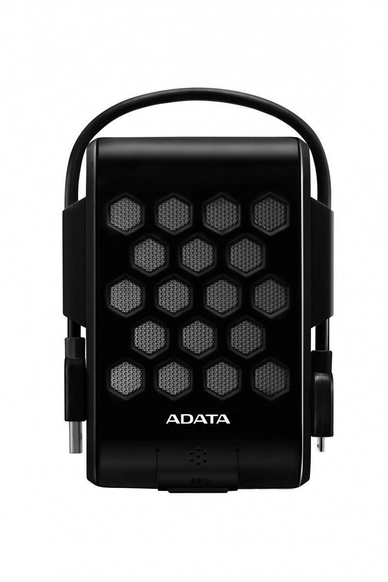 A-Data Dysk Zewnętrzny HD720 2TB 2.5'' HDD USB 3.0 Czarny Wodo-Wstrząsoodporny