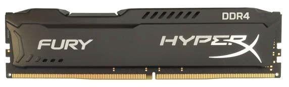 Kingston HyperX FURY Black Series 4GB 2400MHz DDR4 Non-ECC CL15 DIMM