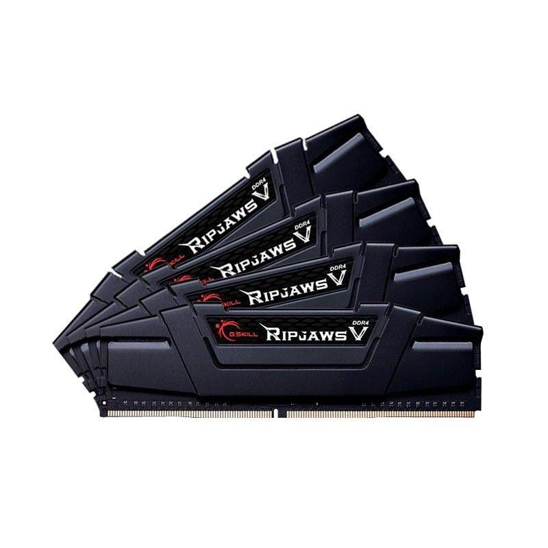 GSkill DDR4 16GB (4x4GB) RipjawsV 3200MHz CL16-16-16 XMP2 Black