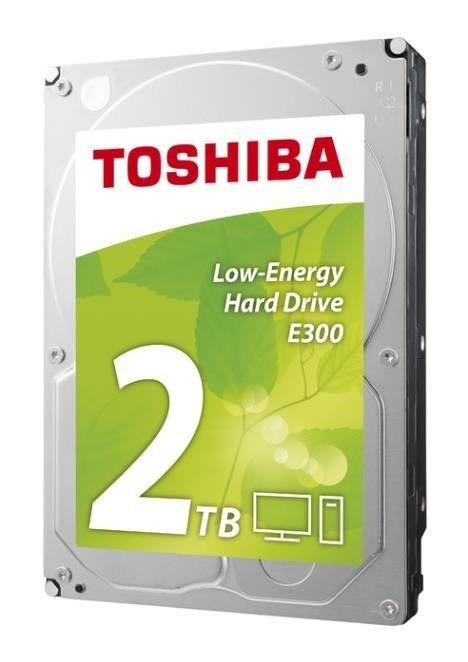 Toshiba Dysk Toshiba E300 HDWA120EZSTA 3,5 2TB SATA-III 5700 64MB