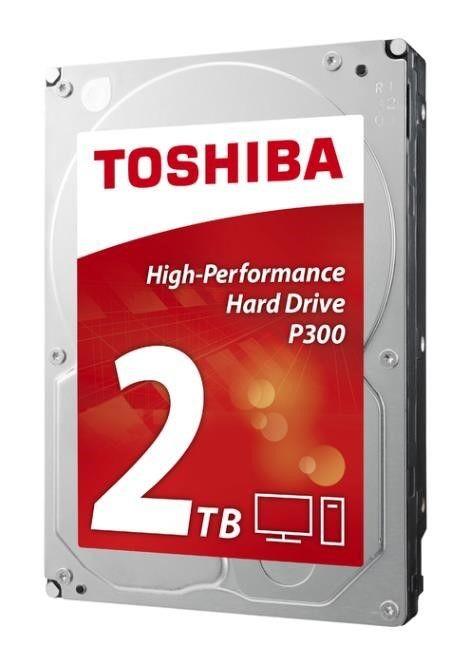 Toshiba Dysk Toshiba P300 HDWD120EZSTA 3,5 2TB SATA-III 7200 64MB