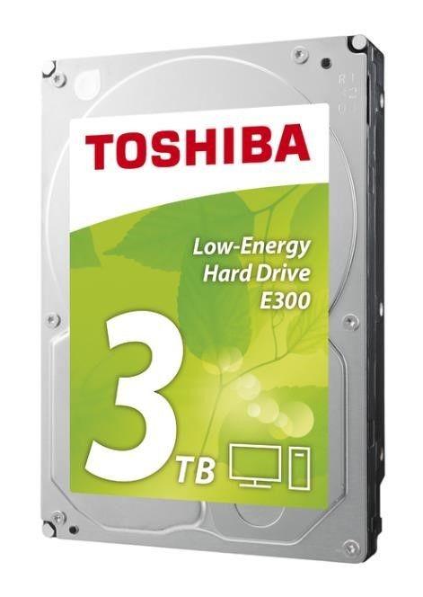 Toshiba Dysk Toshiba E300 HDWA130EZSTA 3,5 3TB SATA-III 5940 64MB