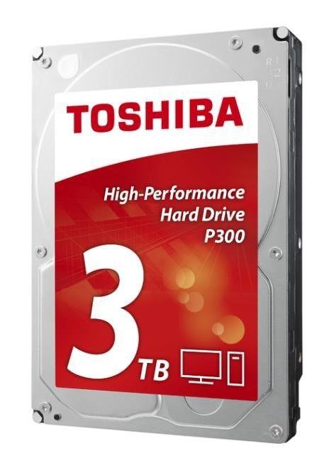 Toshiba Dysk Toshiba P300 HDWD130EZSTA 3,5 3TB SATA-III 7200 64MB