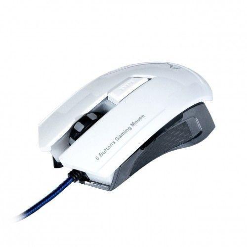 ART MYSZ optyczna dla graczy 2000DPI USB AM-90 biała