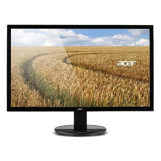 Acer Monitor Acer K242HLbd 61cm (24) 16:9 LED 1920x1080(FHD) 5ms 100M:1 DVI czarny