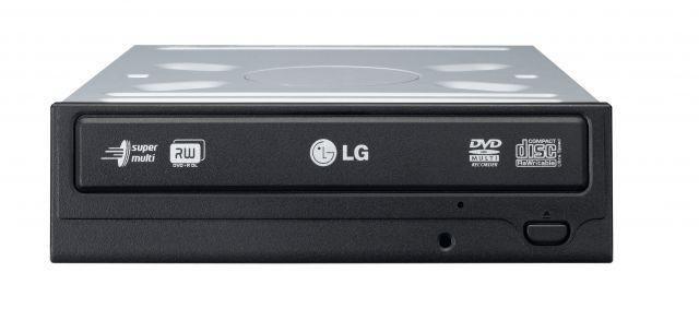 LG SuperMulti SATA DVD+/-R24x,DVD+RW6x,DVD+R DL 8x, bare bulk(czarny)