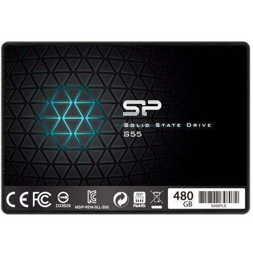 Silicon-Power Dysk SSD Slim S55 480GB 2.5'', SATA III 6GB/s, 560/530 MB/s, 7mm