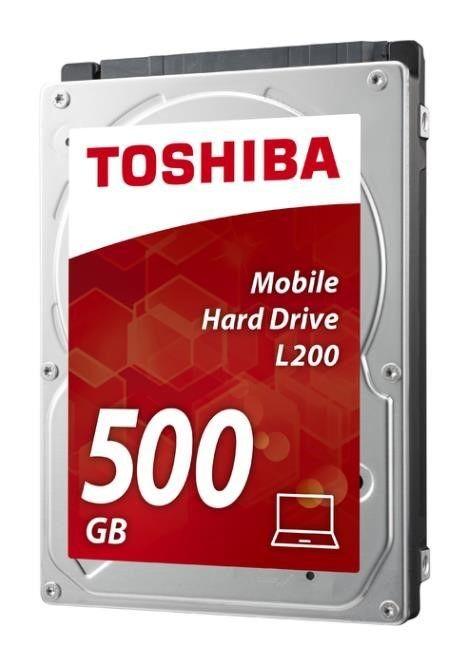 Toshiba Dysk HDD L200 HDWJ105EZSTA ( 500 GB ; 2.5 ; SATA II ; 8 MB ; 5400 obr/min )