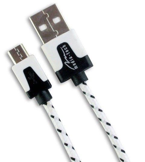 Media-Tech MICRO USB CABLE - Kabel zasilający oraz transmisyjny do urządzeń mobilnych,