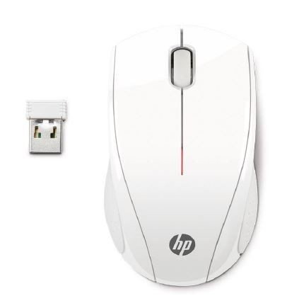 HP Mysz X3000 White Wireless Mouse
