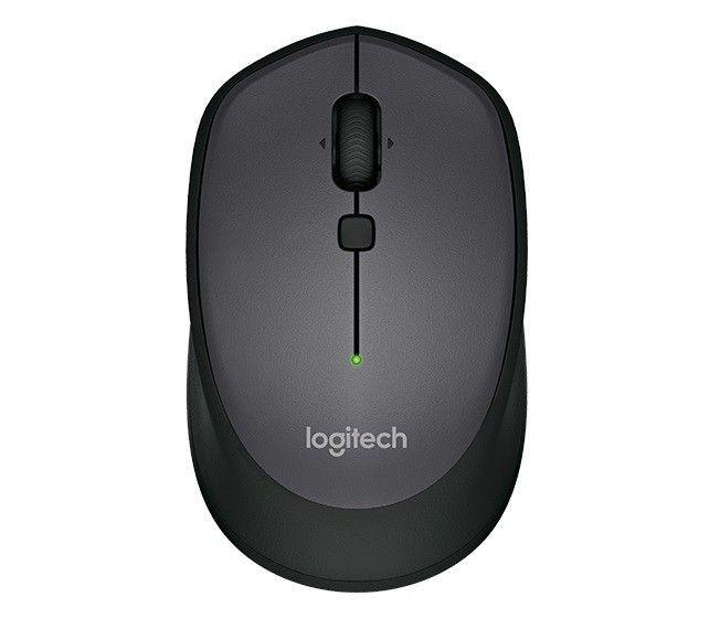 Logitech Mysz bezprzewodowa Logitech M335 optyczna czarna