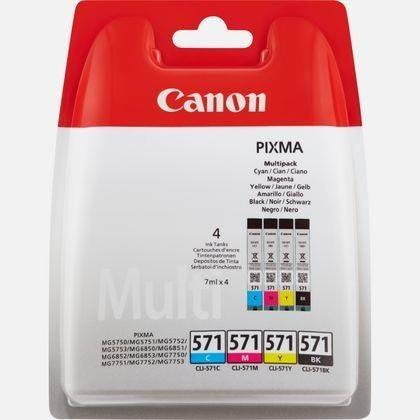 Canon Tusz CLI-571 C/M/Y/BK MULTIPACK Blister without Security