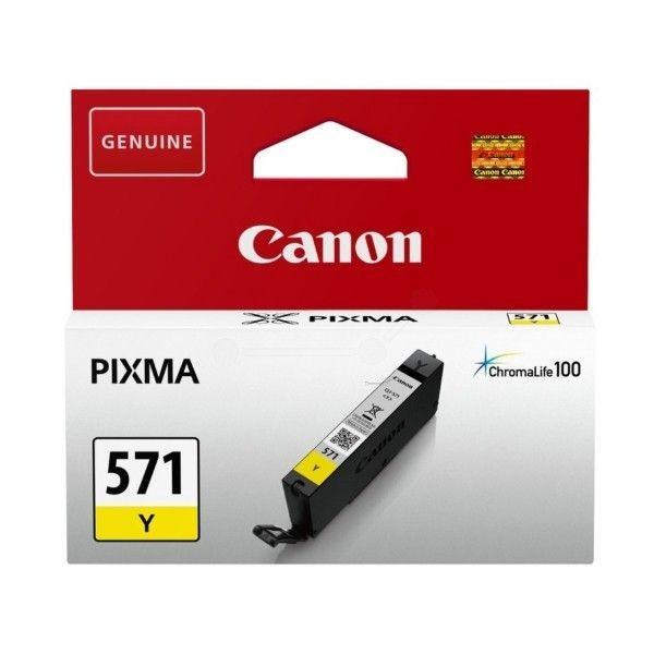 Canon Tusz CLI-571 yellow