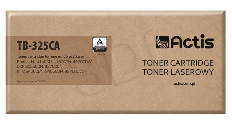 Actis Toner TB-325CA (zamiennik Brother TN-325C; Supreme; 3 500 stron; niebieski)