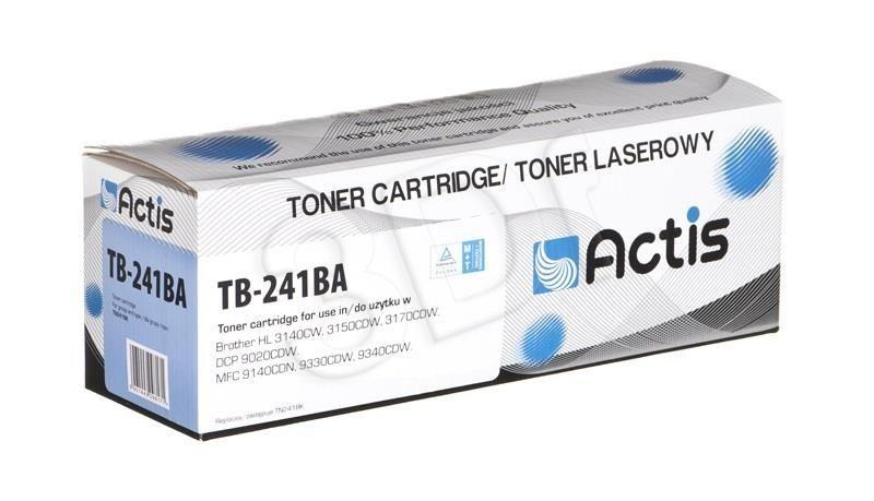 Actis Toner TB-241BA (zamiennik Brother TN-241BK; Supreme; 2 200 stron; czarny)