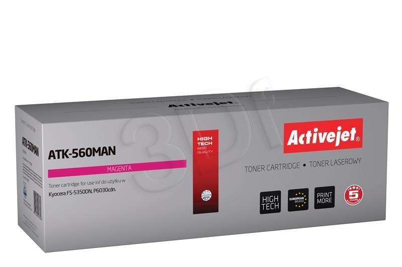 ActiveJet Toner ActiveJet ATK-560MAN | Magenta | 10000 pp | KYOCERA TK-560M