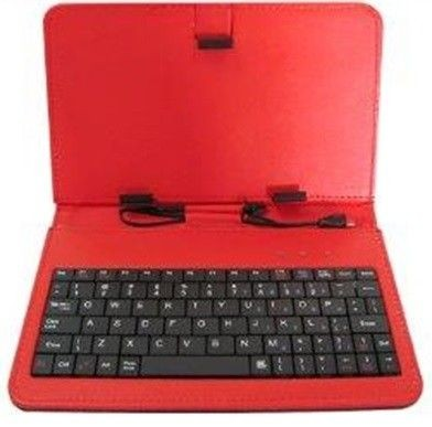 rebeltec etui do tabletu z klawiaturą QUWERTY 7cal KS7 RED