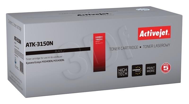 ActiveJet Toner ActiveJet ATK-3150N | Czarny | 14500 pp | KYOCERA TK-3150