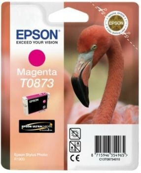 Epson tusz T0873 magenta Retail Pack BLISTER (Stylus Photo R1900)
