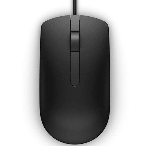 Dell Przewodowa mysz optyczna USB czarna MS116