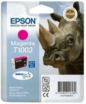 Epson tusz T100 magenta DURABrite Ultra (11.1ml, Stylus Office B40W/BX600FW)