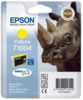 Epson tusz T100 yellow DURABrite Ultra (11.1ml, Stylus Office B40W/BX600FW)