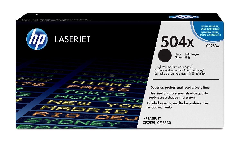 HP Toner HP black | 10500str | ColorSphere | Color LaserJet CP3520