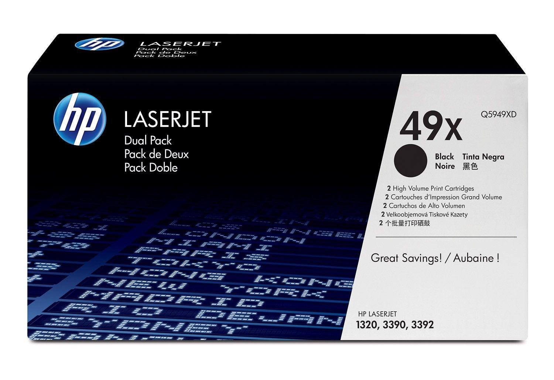 HP Toner HP black dual pack | 2x6000str | LaserJet1320