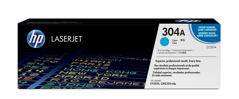 HP Toner HP 304A cyan | 2800str | Color LaserJet CP2025/CM2320
