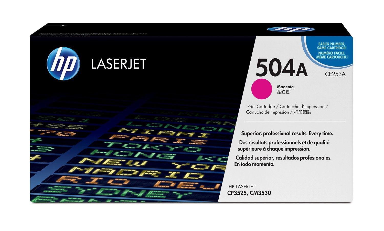 HP Toner HP 504A magenta | 7000str | ColorSphere | Color LaserJet CP3520