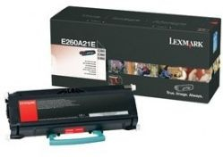 Lexmark toner black do E260/E360/E460 (6000str)