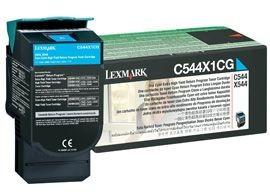 Lexmark toner cyan (4000str, C544 / X544 / X546dtn / X548)