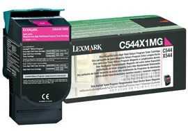 Lexmark toner magenta (4000str, C544 / X544 / X546dtn / X548)