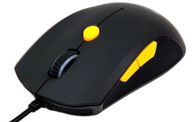 Genius myš GX GAMING Scorpion M6-600/ drátová/ 5000 dpi/ 6tlačítek/ USB/ černožlutá